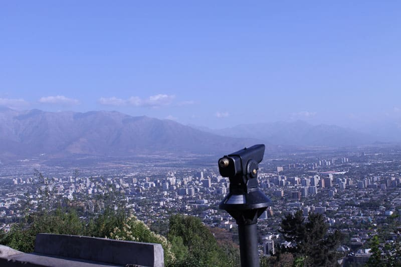 Cerro San Cristóbal e Cerro Santa Lucía: mirantes com bela vista ...