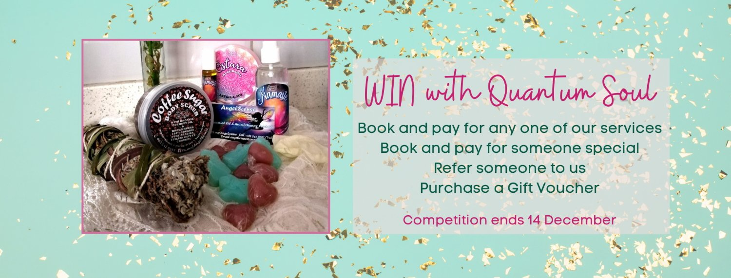 ENTER OUR FABULOUS 'SPOIL ME' COMPETITION with Quantum Soul