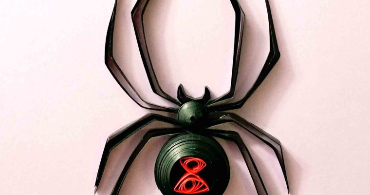 Quilled Black Widow Spider