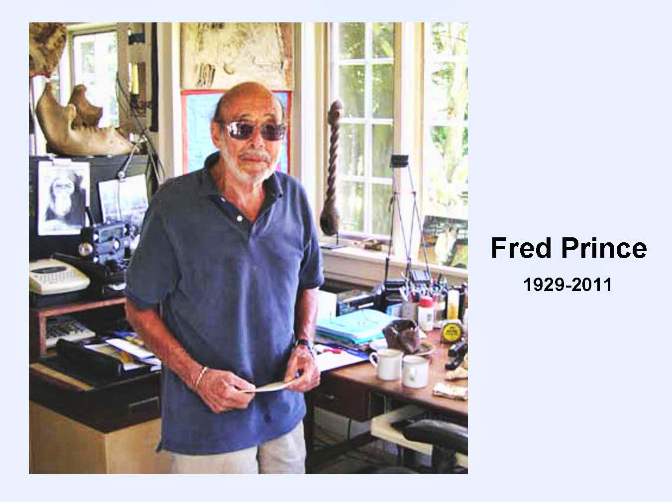 Fred Prince 1929-2011