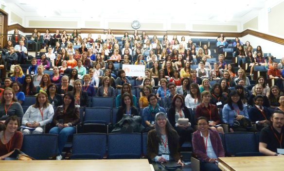 Conference for Undergraduate Women in Physics, Caltech, 19 January 2013