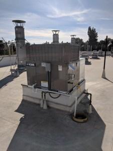 heat pump package unit installation