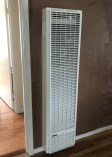 Wall heater installation