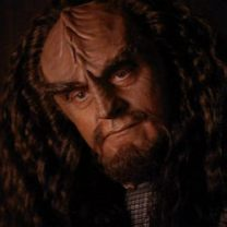 Star Trek~The Next Generation: K'mtar, a future version of Alexander, son of Worf (Tactical Officer)