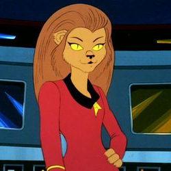 Star Trek~The Animated Series: Starfleet Operations Division Officer, Lieutenant M'Ress (Forensics Officer)