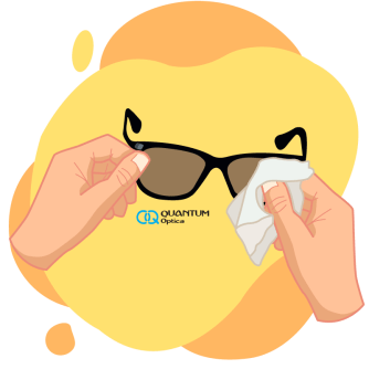 Quantum - 4 consejos para cuidar tus lentes de sol - lentes de sol con su pañuelo