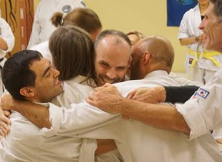 hugging picture
