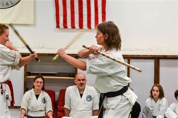 Master Evans, Arnis stick fighting