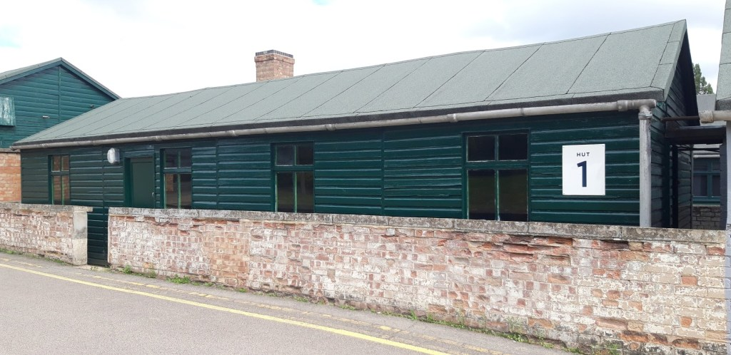 An example of the Huts where code-breakers worked on breaking Nazi codes during WW2. Alan Turing worked in Hut No 8.