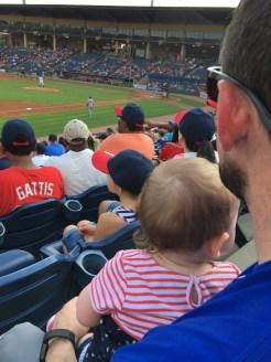 Daddy-daughter baseball time :)