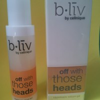 B.liv by Cellnique Off with those heads blackheads sebum gel Review