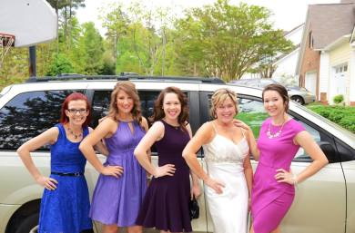 Mama & Dale's wedding, April 2015