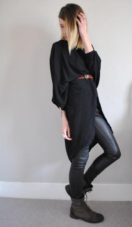 Religion black kaftan
