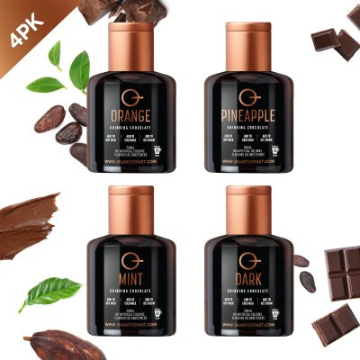 Q Hot Chocolate Mixed 360mL (4 Pack)