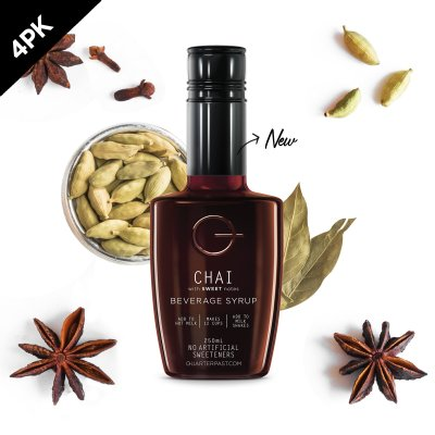 Q Chai Concentrate 250mL (4 Pack)