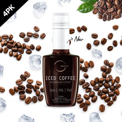 Q Iced Coffee Concentrate 250mL (4 Pack)