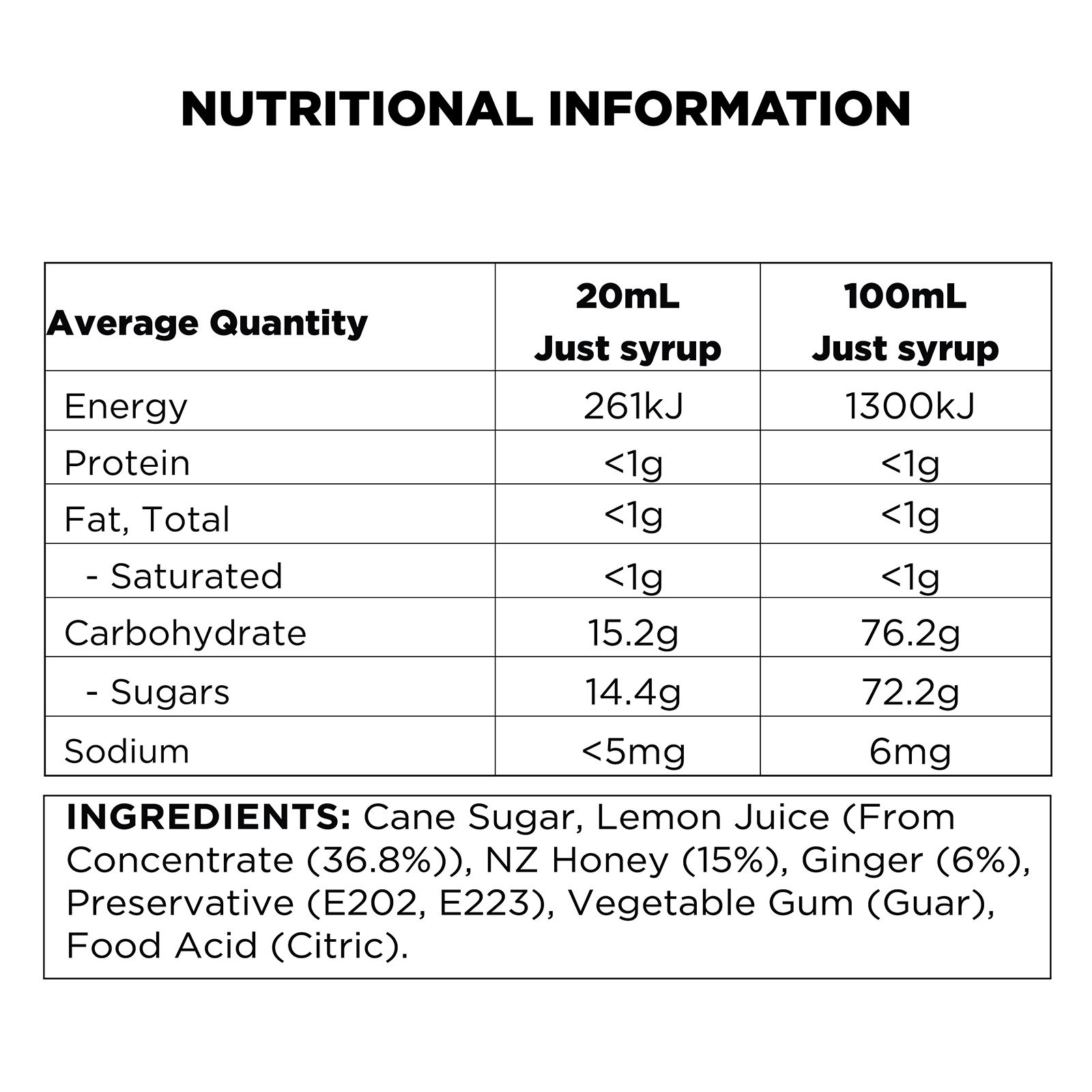 q-lemon-ginger-honey-nutritional-information