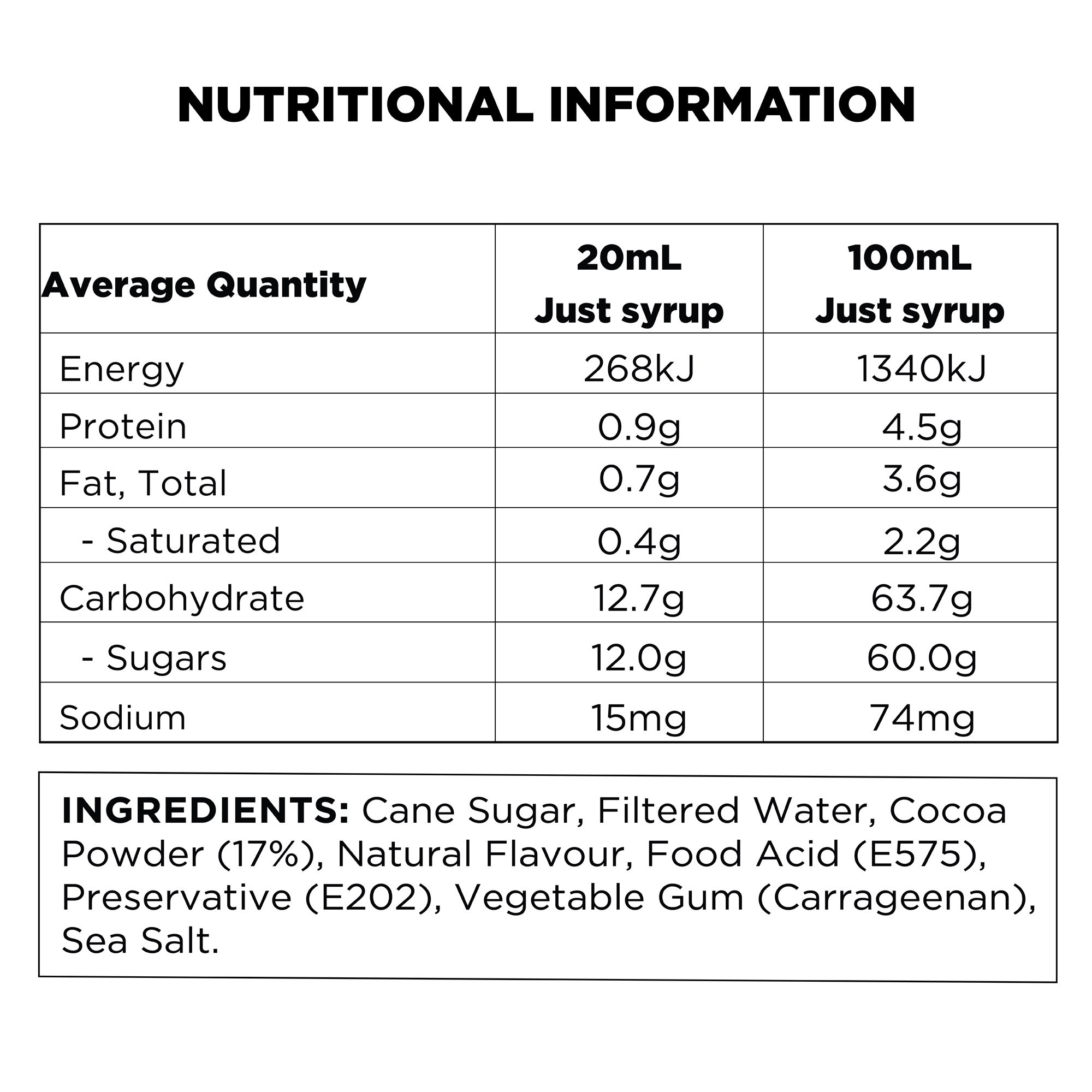 q-rose-hot-chocolate-nutritional-information
