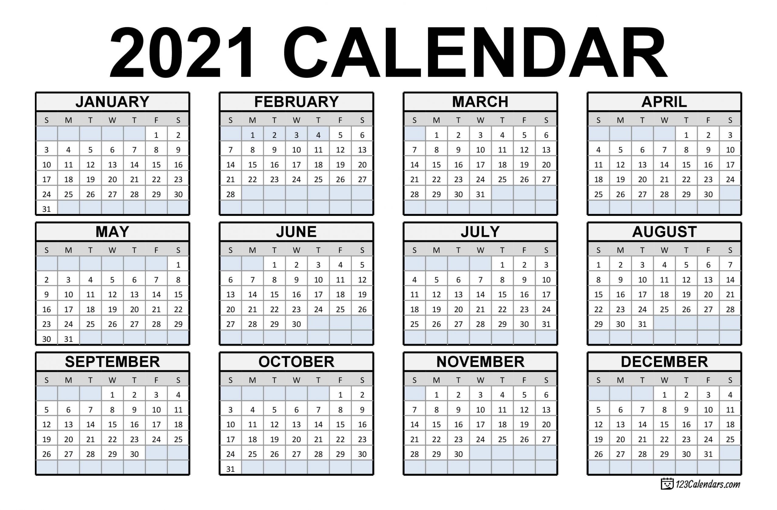 Whether you prefer the convenience of an electric can opener or you're perfectly fine with the simplicity of manual models, a can opener is an indispensable kitchen tool you can't live without unless you plan to never eat canned foods. Effective Free Downloadable 2021 Calendar | Get Your ...