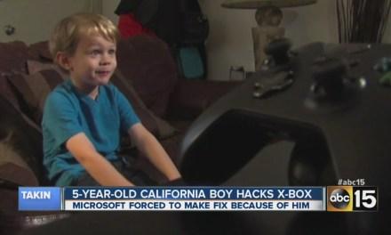 A 5 ans, il hack Xbox live…