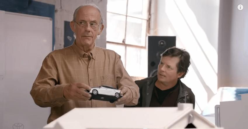 Toyota sa nouvelle pub avec Marty McFly et Doc Brown !