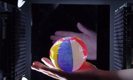 HaptoClone, L'hologramme 3D que vous pouvez toucher !