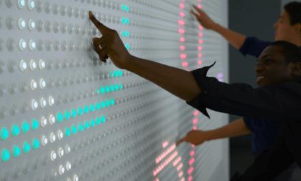 Un mur interactif par google