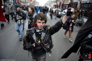Photos : Manifestation nationale contre l'indexation