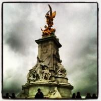 O Palácio de Buckingham!