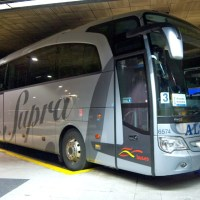 De ônibus pela Espanha!