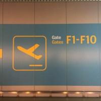 O aeroporto e a imigração em Dublin