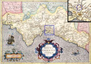 Regni Valentiae Typus (Jodocus-Hondius, 1606, Amsterdam)