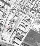 Vista aèria de Refracta (Quart de Poblet) any 1976.
