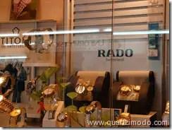 Titoni and Rado timepieces