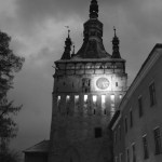 Clock Tour, Sighisoara, at night