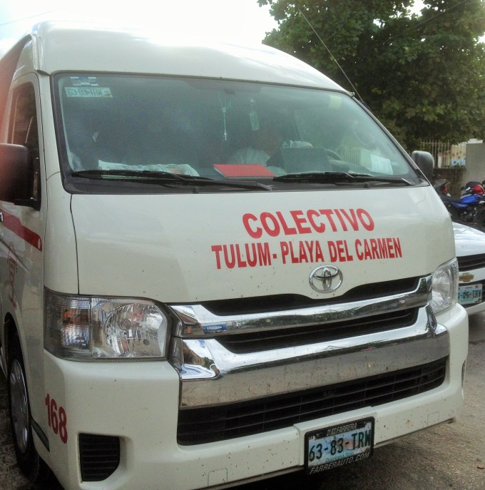 Como chegar em Tulum saindo de Playa del Carmen