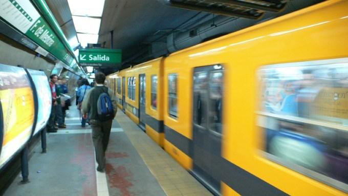 Metrô em Buenos Aires