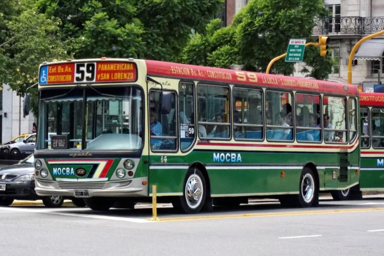 Como se locomover em Buenos Aires de ônibus