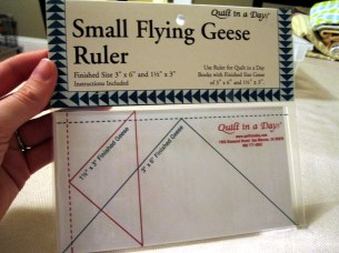 Flying Geese Ruler