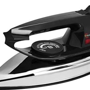Quassarian retro black electric iron