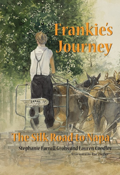 Cover Frankies Journey Book