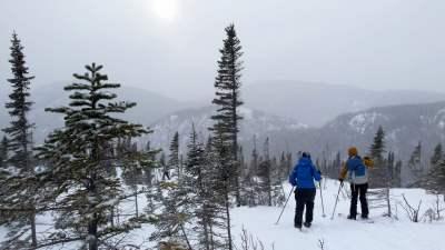 Ski de randonnée nordique Demie-Traversée de Charlevoix