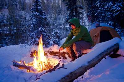 Camping d'hiver