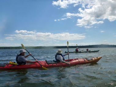 Kayak de mer Découverte Ile d'Orléans 01
