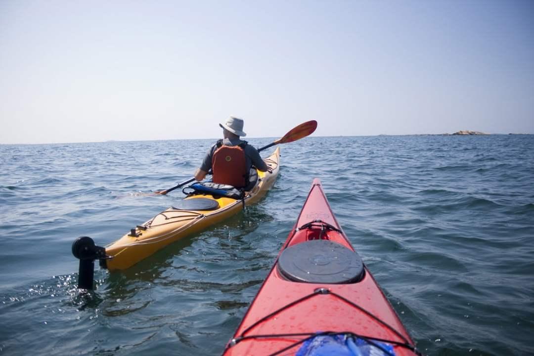 Baie Géorgienne en kayak de mer