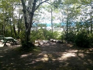 Camping Île d'Orléans - site1A