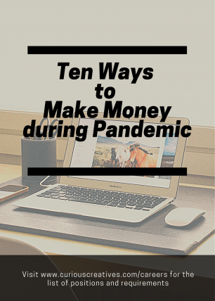 The New Normal: 10 Ways to Make Money During the Pandemic