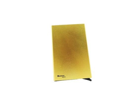 Korthållare cardsafe guld