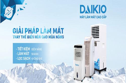 máy làm mát không khí daikio làm mát hiệu quả