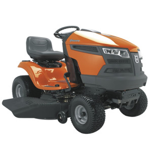 image of riding mower
